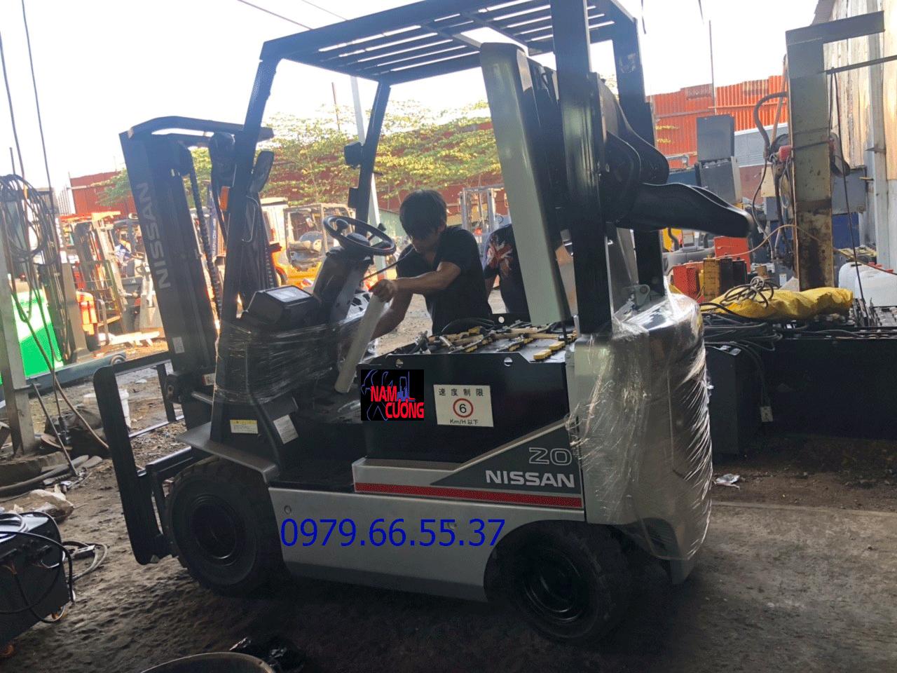 Sửa chữa xe nâng tại Dĩ An Bình Dương