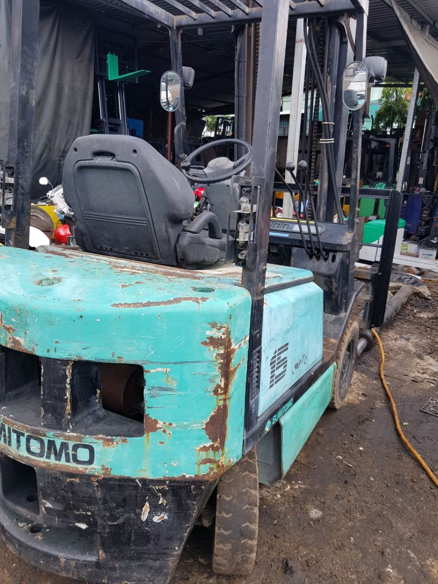 Xe nâng dầu cũ Sumitomo